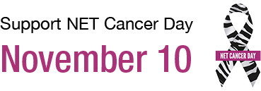 NET Cancer Day - support
